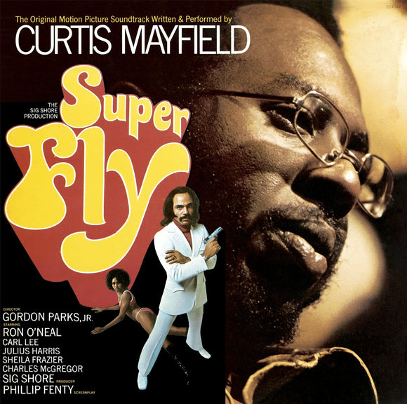 MAYFIELD, CURTIS <BR><I> SUPER FLY (SOUNDTRACK) [Opaque Red Vinyl] LP</I>