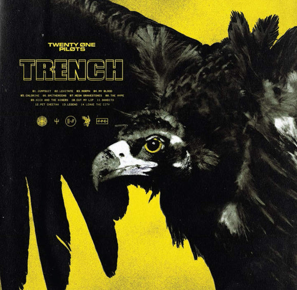 TWENTY ONE PILOTS <br><I> TRENCH [Indie Exclusive Olive Green Vinyl] 2LP</I>