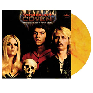 COVEN<br> <I>WITCHCRAFT [LTD Red & Yellow Vinyl] LP</I>