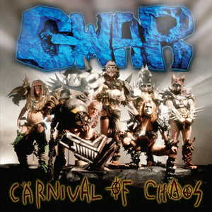 GWAR<BR><I>CARNIVAL OF CHAOS [Yellow with Red Splatter Vinyl, Limited] LP<br>CORNER BEND</I>