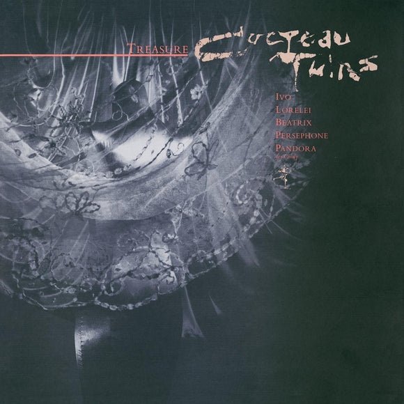 COCTEAU TWINS <BR><I> TREASURE (Remastered) LP</I>