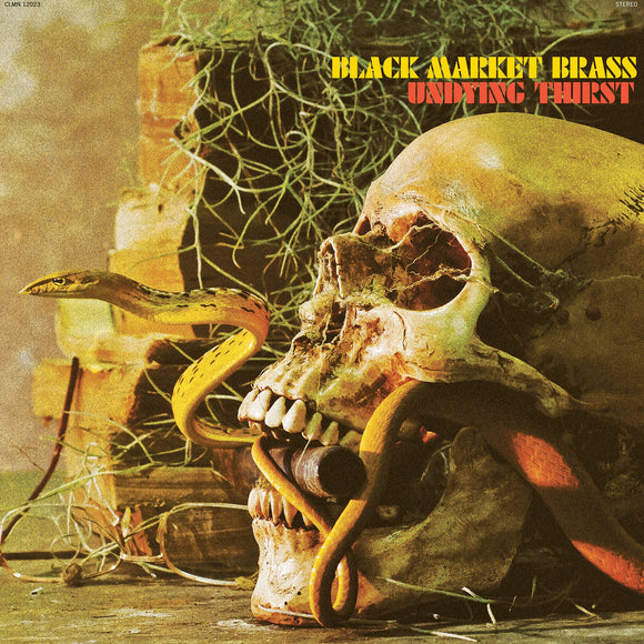 BLACK MARKET BRASS<BR><I>UNDYING THIRST [Gold Vinyl] LP</I>