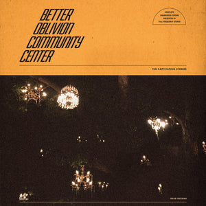 BETTER OBLIVION COMMUNITY CENTER<br> <I> BETTER OBLIVION COMMUNITY CENTER LP</I>