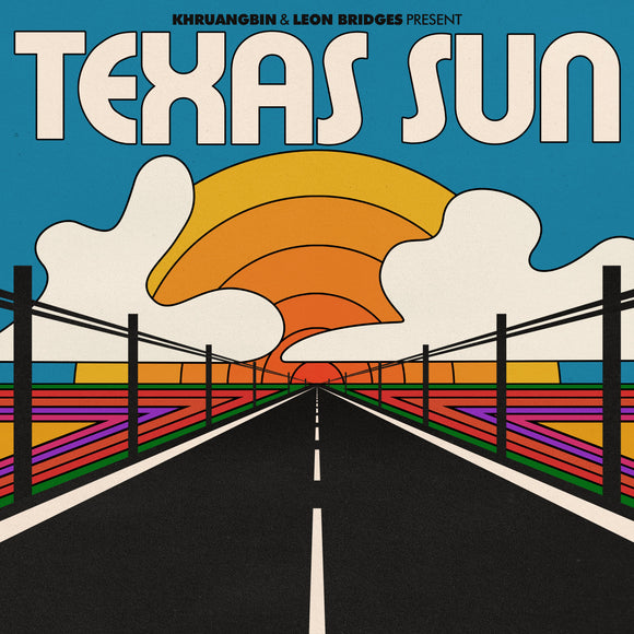 KHRUANGBIN & LEON BRIDGES<BR><I>TEXAS SUN [Indie Exclusive Orange Translucent Vinyl] EP</I>