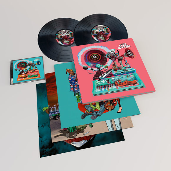 GORILLAZ <br><i> SONG MACHINE SEASON ONE (4LP Deluxe Edition) </I>