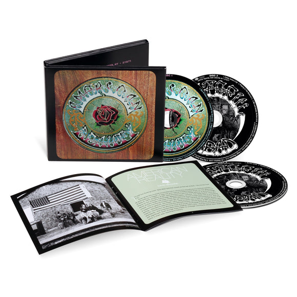 GRATEFUL DEAD <br><i> AMERICAN BEAUTY (50th Anniversary Deluxe Edition) 3CD</I>