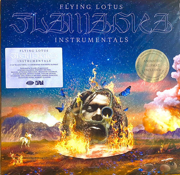 FLYING LOTUS<BR><I>FLAMAGRA (INSTRUMENTALS) 2LP</I>