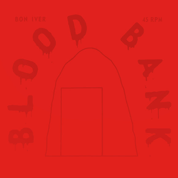 BON IVER <br><I> BLOOD BANK EP (10TH ANNIVERSARY EDITION) [RED VINYL] LP</I>