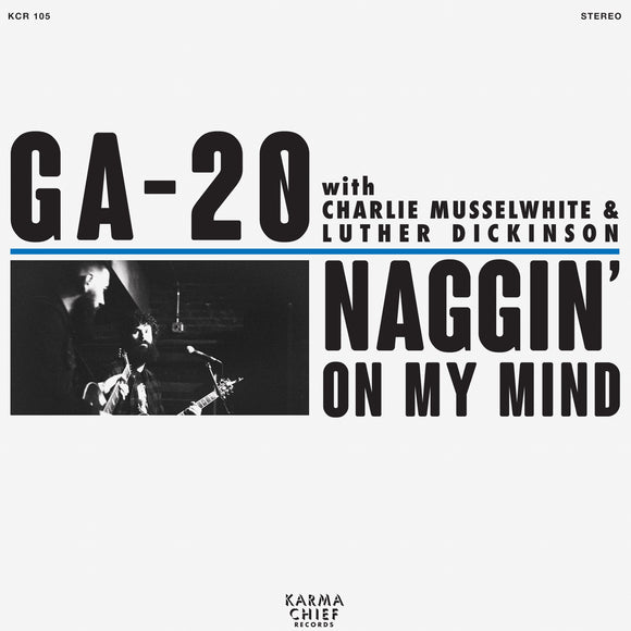 GA-20 <BR><I> NAGGIN' ON MY MIND [Blue Vinyl] 7