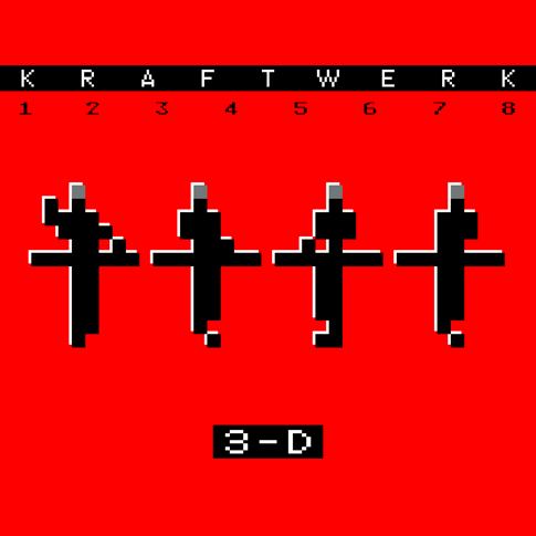 KRAFTWERK<br><i> 3-D: THE CATALOGUE (2LP/180G/DL CARD)</I>