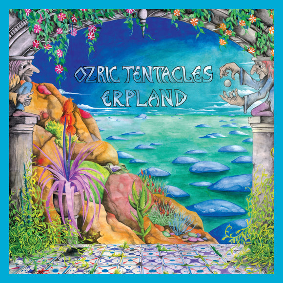 OZRIC TENTACLES <BR><I> ERPLAND (2020 Ed Wynne Remaster) [Turquoise Vinyl] 2LP</I>