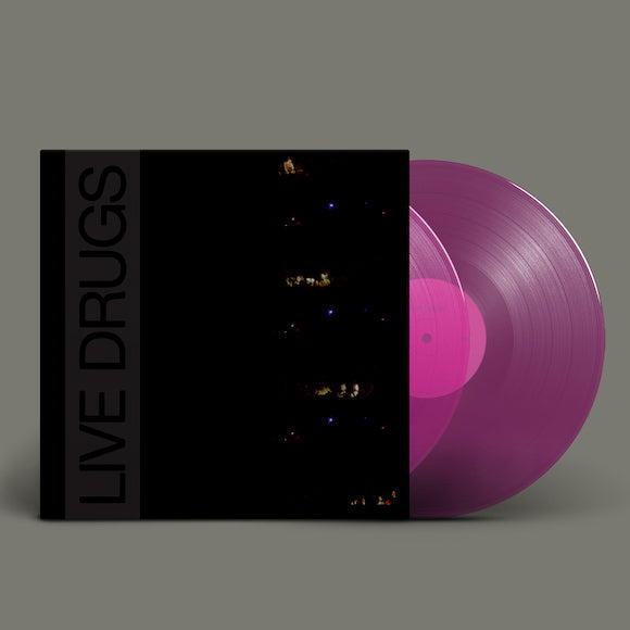 WAR ON DRUGS, THE <BR><I> LIVE DRUGS [Indie Exclusive Transparent Purple Vinyl] 2LP</I>
