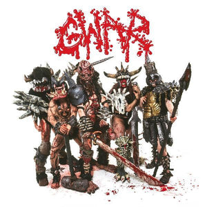 GWAR <BR><I> SCUMDOGS OF THE UNIVERSE: 30th Anniversary [Red Marbled Vinyl] LP</I>