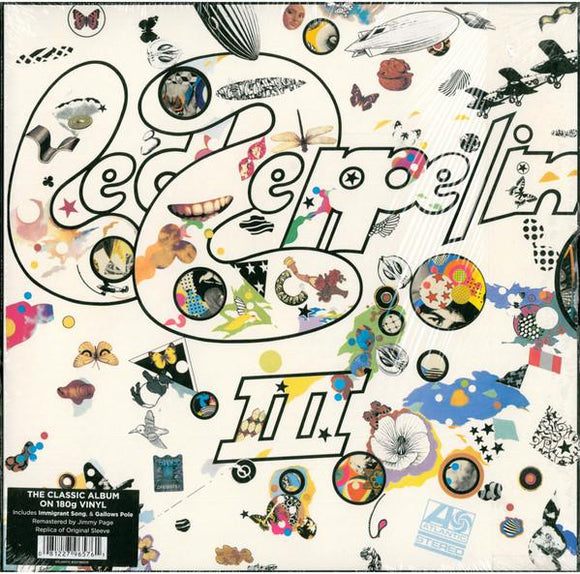 LED ZEPPELIN<BR><I> LED ZEPPELIN III [180G / Remastered] LP</I>