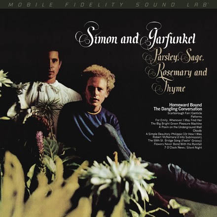 SIMON AND GARFUNKEL<br><i>PARSLEY, SAGE, ROSEMARY AND THYME (MOFI) [180G Audiophile Vinyl, limited/numbered] LP</i>