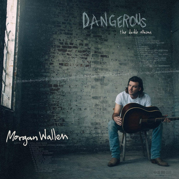 WALLEN, MORGAN <BR><I> DANGEROUS: THE DOUBLE ALBUM [Indie Exclusive w/Baseball Card] CD</I>