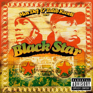 "BLACK STAR<br><i> MOS DEF & TALIB KWELI ARE BLACK STAR [Limited Picture Disc ""Two Tone Black Star"" Vinyl] LP</I>"