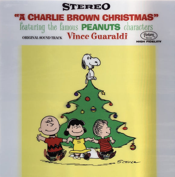GUARALDI, VINCE TRIO <BR><I> A CHARLIE BROWN CHRISTMAS: 70TH ANNIVERSARY [Limited Edition Lenticular Cover] LP</I>
