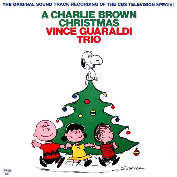 VINCE GUARALDI TRIO<BR><I>A CHARLIE BROWN CHRISTMAS [Green Vinyl] LP</I>