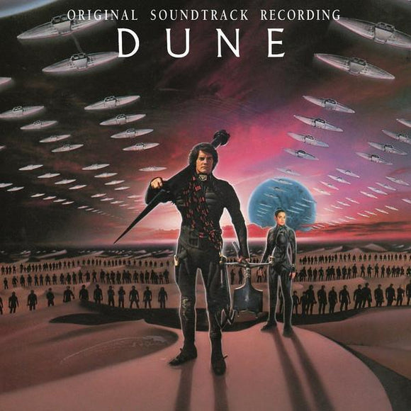 TOTO / BRIAN ENO <BR><I> DUNE SOUNDTRACK (1984) [Black Vinyl] LP</I>