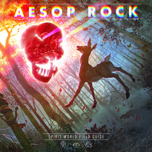 AESOP ROCK <BR><I> SPIRIT WORLD FIELD GUIDE [Ultra Clear Vinyl] 2LP</I>