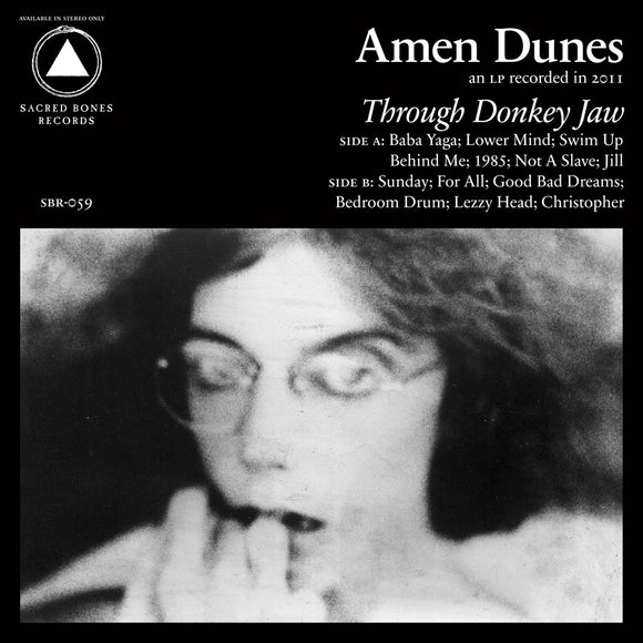 AMEN DUNES <br><i> THROUGH DONKEY JAW LP</i>
