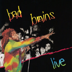 BAD BRAINS<BR><I> LIVE LP</I>