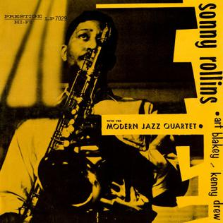 ROLLINS, SONNY<BR><I> SONNY ROLLINS WITH THE MODERN JAZZ QUARTET [Limited Blue Vinyl] LP</I>