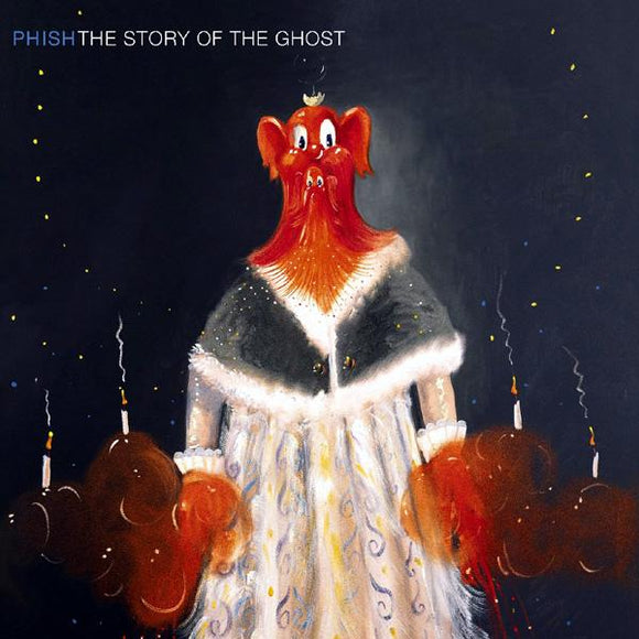 PHISH<br><i> STORY OF THE GHOST [Red & Black Vinyl] 2LP</I>