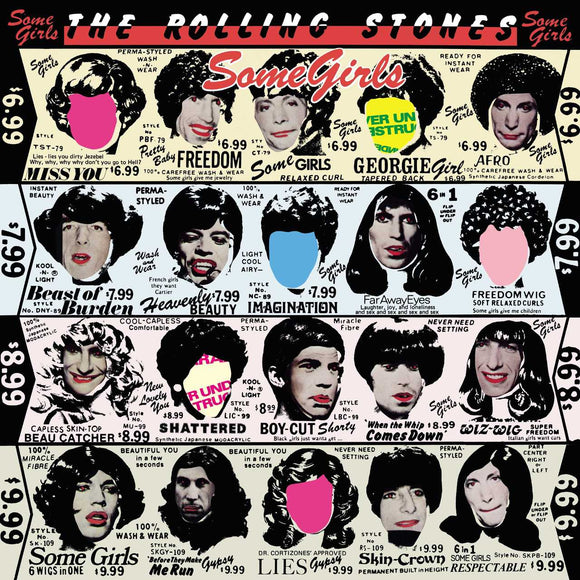 ROLLING STONES<br><i> SOME GIRLS (Half-Speed Master Reissue) LP</I>