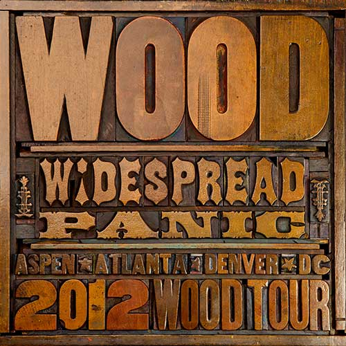 WIDESPREAD PANIC<BR><I>WOOD [180G] 3LP</I>