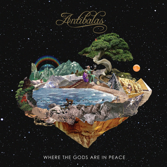 ANTIBALAS<br><i>WHERE THE GODS ARE IN PEACE [Coke Bottle Clear] LP</i>