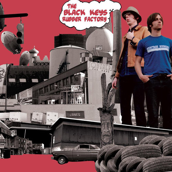 BLACK KEYS, THE <BR><I> RUBBER FACTORY LP</I>