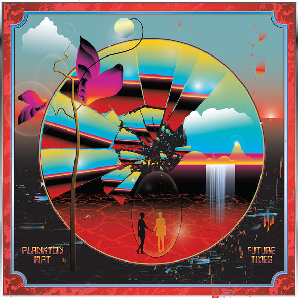 PLANKTON WAT <BR><I> FUTURE TIMES [Indie Exclusive Translucent Red Vinyl] LP</I><br>