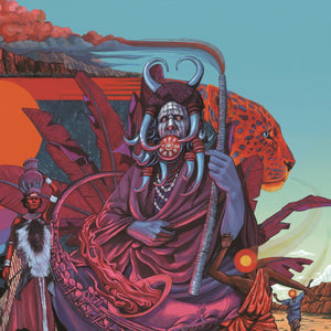 ACKAMOOR,IDRIS & THE PYRAMIDS<br><i>SHAMAN! 2LP</I>