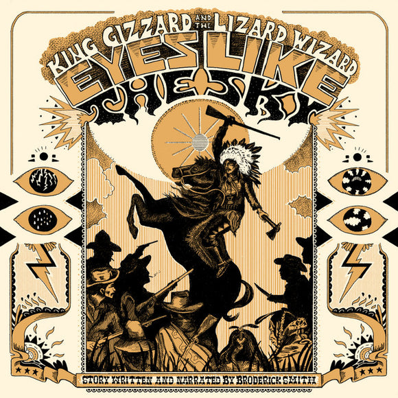 KING GIZZARD & THE LIZARD WIZARD <BR><I>EYES LIKE THE SKY [Halloween Orange Vinyl] LP</I>