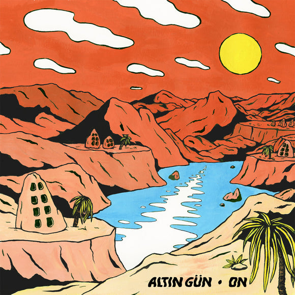ALTIN GÜN<BR><I>ON [Turquoise/White Swirl Vinyl] LP</I>
