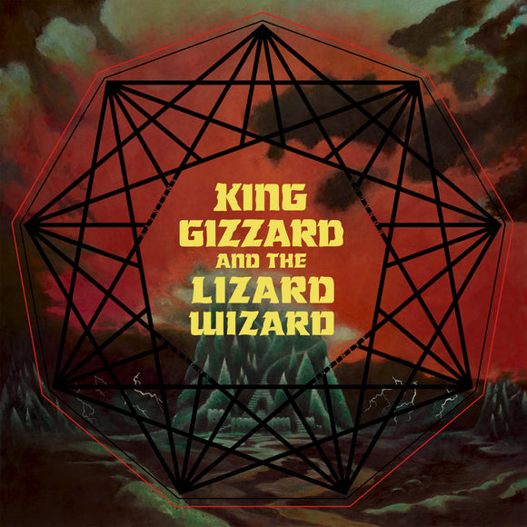 KING GIZZARD & THE LIZARD WIZARD<BR><I>NONAGON INFINITY [Green w/Black Splatter Vinyl] LP</I>