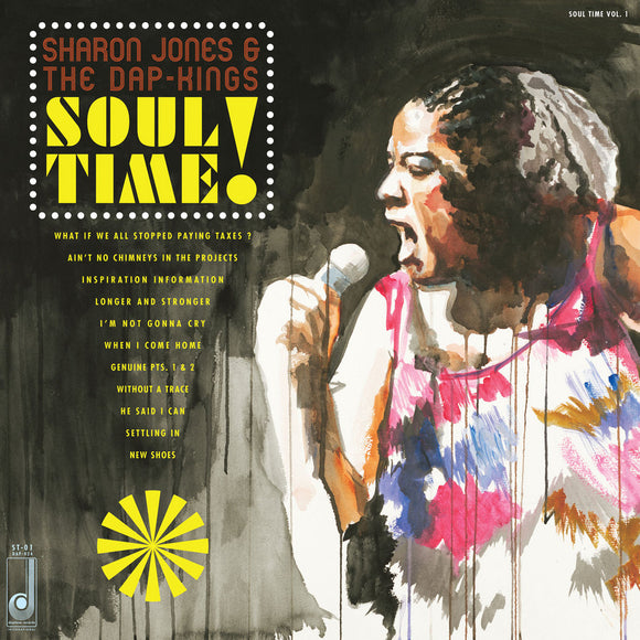 JONES, SHARON & THE DAP-KINGS <BR><I> SOUL TIME! LP</I>