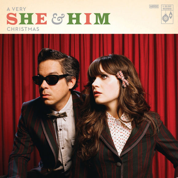 SHE & HIM <BR><I> A VERY SHE & HIM CHRISTMAS [Black Vinyl] LP</I>