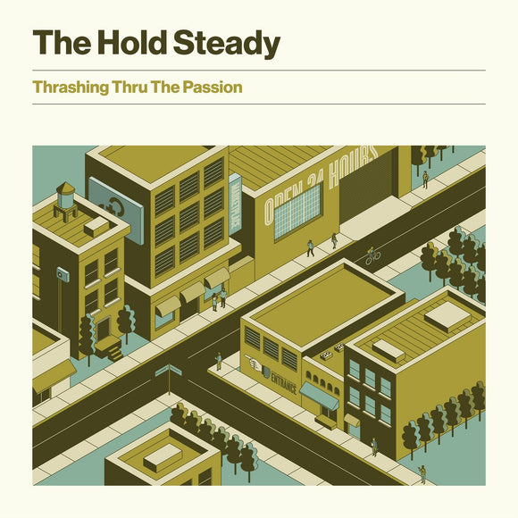 HOLD STEADY, THE<BR><I>THRASHING THRU THE PASSION [Limited Edition Brown Color Vinyl] LP</I>
