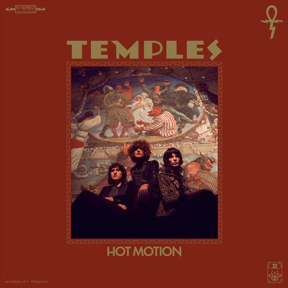 TEMPLES <br><i> HOT MOTION [Multi-colored Galaxy Effect  Vinyl] LP</i>