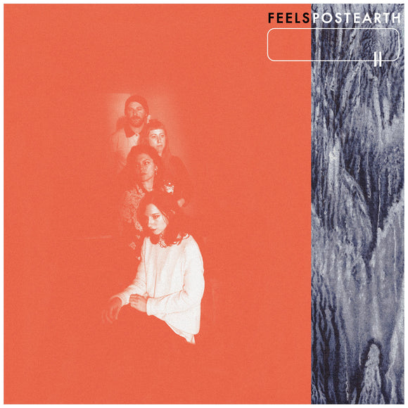 FEELS <BR><I> POST EARTH [Limited Red Vinyl] LP</I>