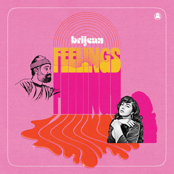 BRIJEAN <BR><I> FEELINGS [Indie Exclusive Lava Lamp Color Vinyl] LP</I><br><br>