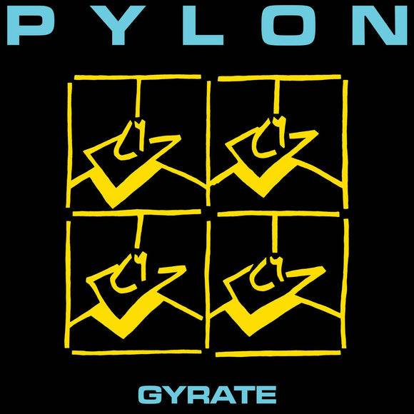 PYLON <BR><I> GYRATE [Indie Exclusive Opaque Teal Vinyl] LP</I>