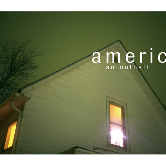 AMERICAN FOOTBALL <br><I> AMERICAN FOOTBALL [Clear w/Smoke Blue Vinyl] LP</I>