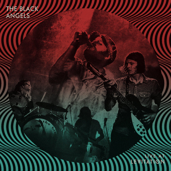 BLACK ANGELS, THE <BR><I> LIVE AT LEVITATION [Indie Exclusive Splatter Color Viny] LP</I>