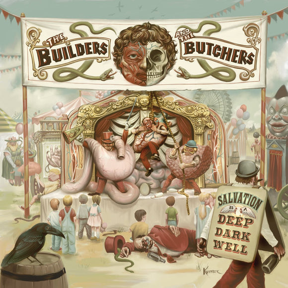 BUILDERS AND THE BUTCHERS, THE<BR><I>SALVATION IS A DEEP DARK WELL [Indie Exclusive Green Vinyl] LP</I>