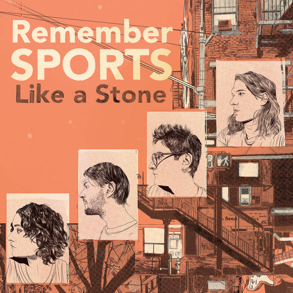REMEMBER SPORTS <BR><I> LIKE A STONE [Eco Mix Color Vinyl] LP</I>