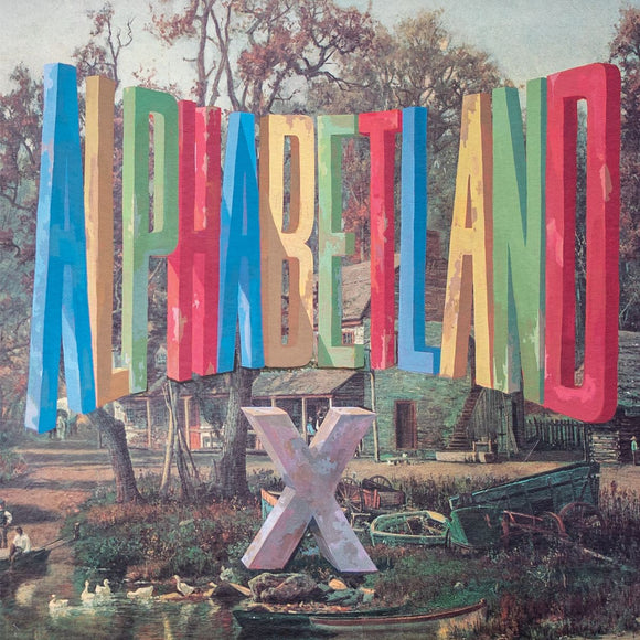 X<BR><I>ALPHABETLAND [Indie Exclusive Blue Vinyl] LP</I>